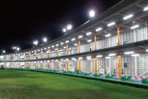 ゴルフ練習場|LED施工事例|ホワイトナイトLED